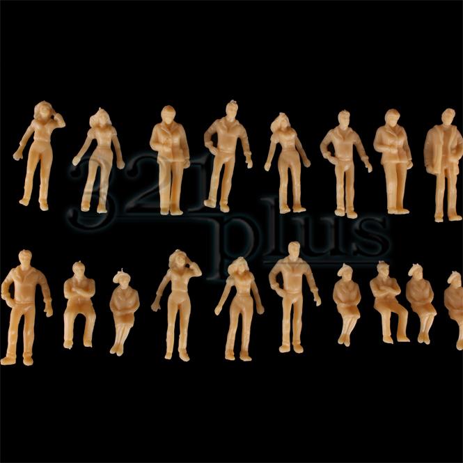 100 stk modellbau figuren 1 50 architektur figuren