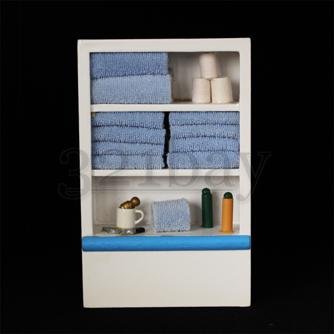 Luxury Dollhouse Miniature Ceramic Bathroom FurnitureNO BASIN 112 Bath
