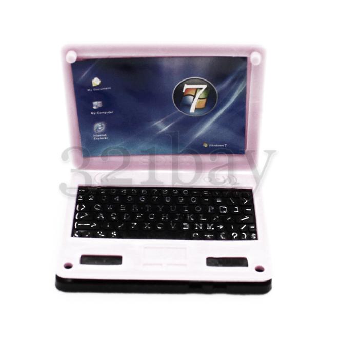miniatur laptop computer zubeh r f r puppenhaus miniatur schreibtisch zubeh r ebay. Black Bedroom Furniture Sets. Home Design Ideas