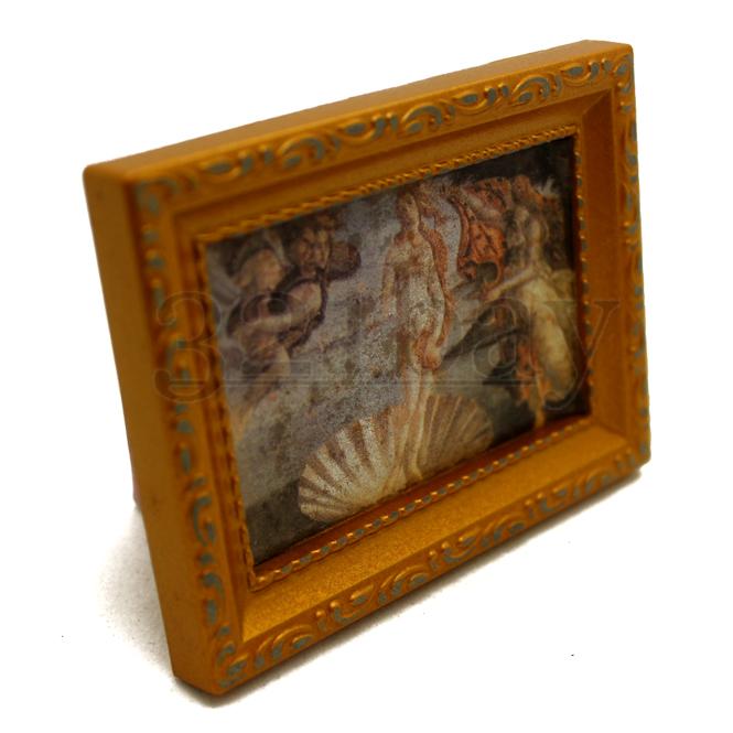 Wall Decor Scala 1.12 immagine in miniatura casa delle bambole ARTE Mona Lisa Foto