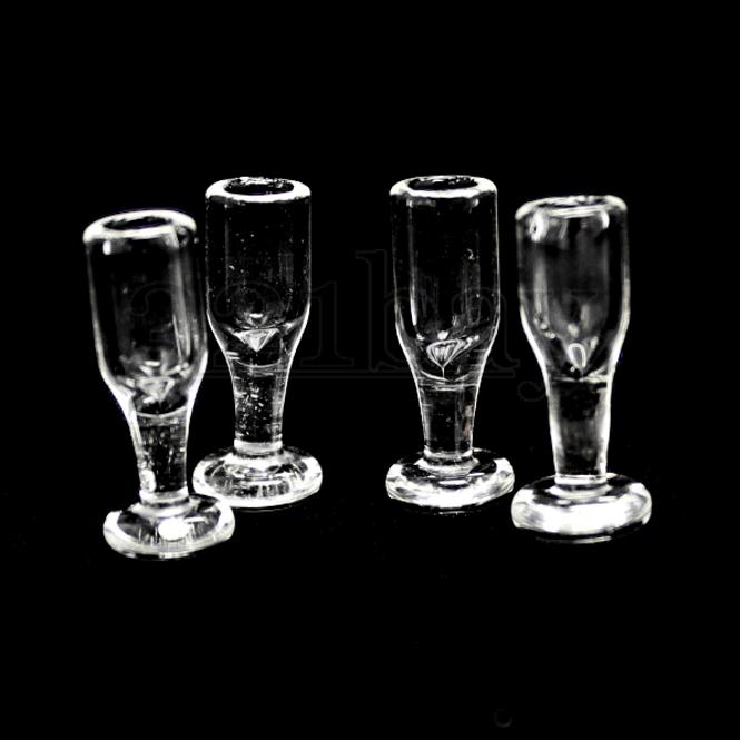 1:12 Scale  Miniature Glasses Dollhouse Decor Accessories Pip CA