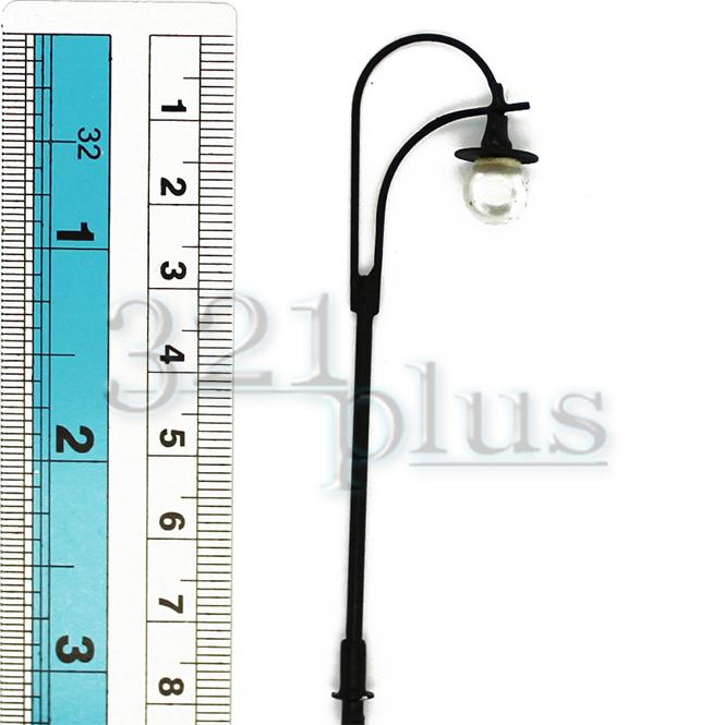 10 stk leuchten lampen h0 stra enleuchten modellbahnleuchten modellbahn zubeh r ebay. Black Bedroom Furniture Sets. Home Design Ideas