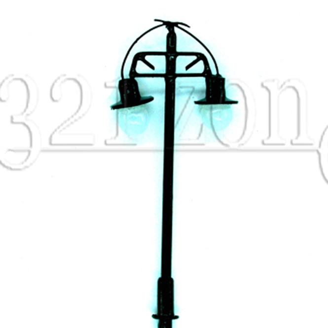 10 stk lampen laternen spur h0 landschaftsbau h0 lampen modellbau 12v gr n 1 87 ebay. Black Bedroom Furniture Sets. Home Design Ideas