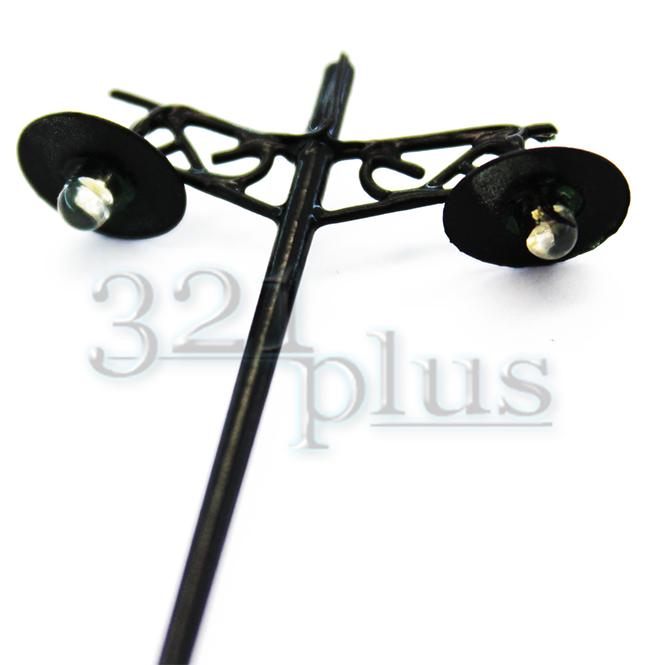 10 stk led beleuchtung modellbahn stra enlaterne spur h0 beleuchtung lichtmasten ebay. Black Bedroom Furniture Sets. Home Design Ideas