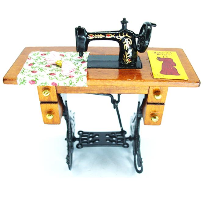 Dollhouse Accessories Dolls House Sewing Machine Miniature