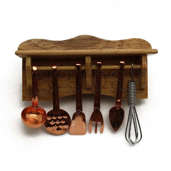 puppenhaus regal miniatur hobby k che k chenhelfer. Black Bedroom Furniture Sets. Home Design Ideas