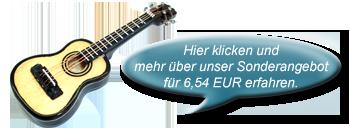 miniatur gitarre