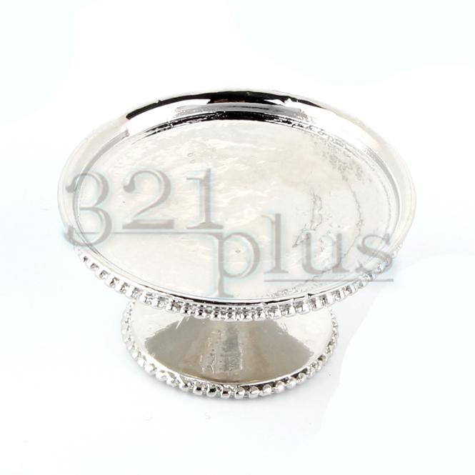 Miniatur Kuchen-Teller Miniatur Süßigkeiten Platte Kuchenteller Cafe Bäckerei