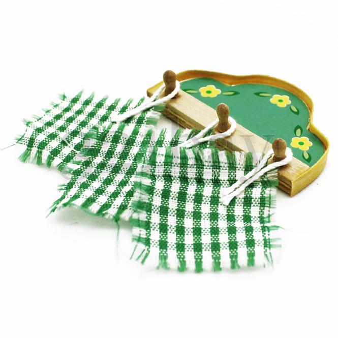 Dollhouse Cloth Mini Kitchen Accessories Pot Oven Cloth