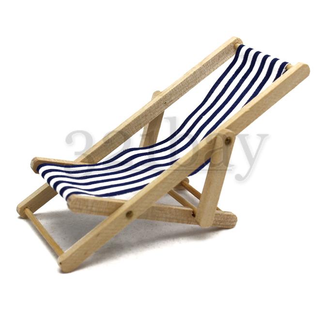 Miniatur liegestuhl deckstuhl miniatur gartenm bel - Miniatur gartenmobel ...