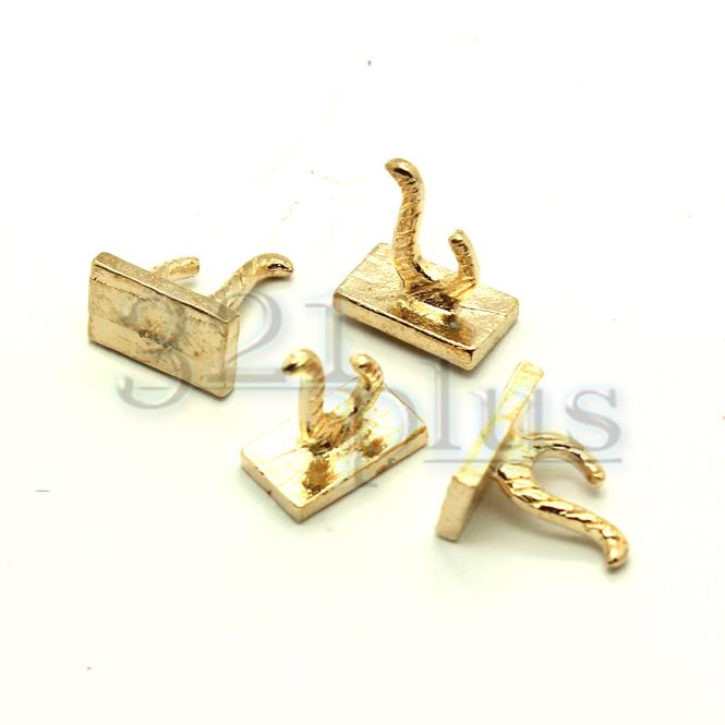 4stk miniatur wandhaken f r die puppenhaus wand dekoration zubeh r gold 1 12 ebay - Dekoration fur die wand ...