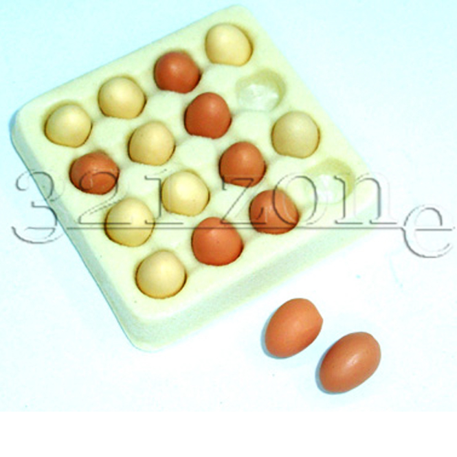Polymer Clay Meat on Mini Kitchen Shelf Sausage 1:12 Scale Clay Food Miniatures