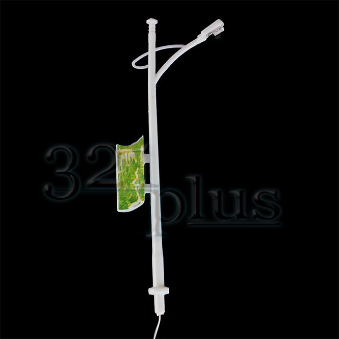 4 SR single concrete platform lamps Static D15 UNPAINTED N Gauge Scale Model Kit