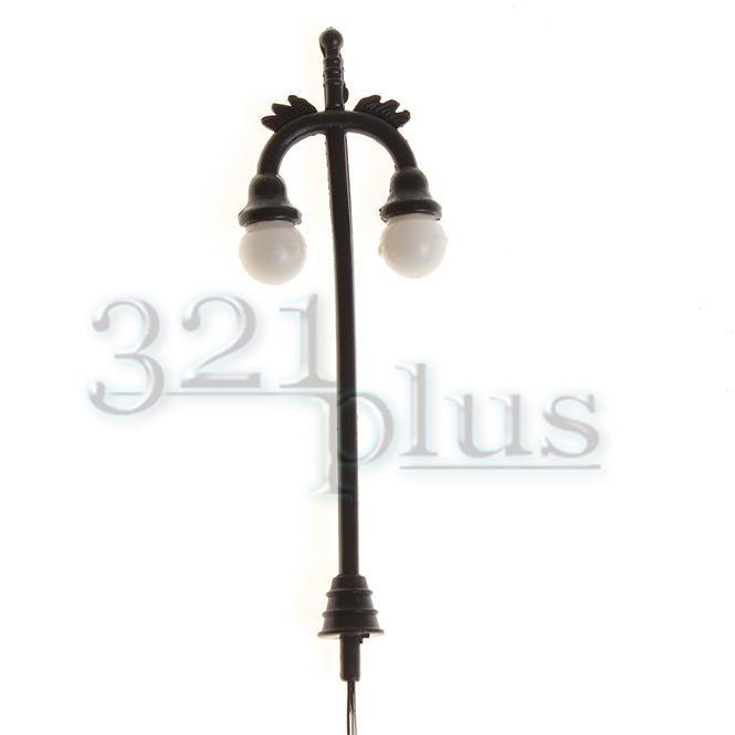 10 stk modelleisenbahn lampen led zubeh r 1 87 plastik laternen led leuchten h0 ebay. Black Bedroom Furniture Sets. Home Design Ideas