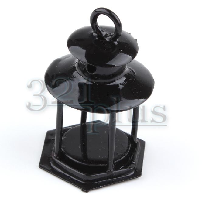 puppenhaus garten 1 12 miniatur laterne lampe fairy garten. Black Bedroom Furniture Sets. Home Design Ideas