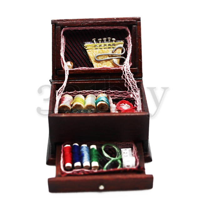Wooden Dollhouses Kits Dollhouse Sewing Box Sewing Room