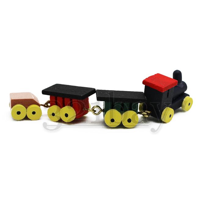 Puppenhaus spielzeug eisenbahn lokomotive weihnachten holz